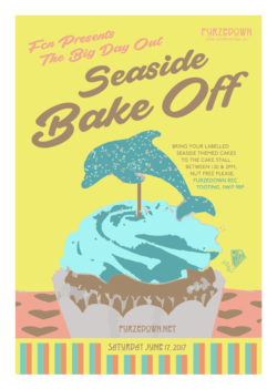 Cake competition poster